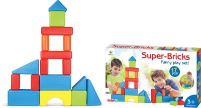 Toys Bhoomi Jumbo Super Bricks Building Blocks Multicolor Toys Bhoomi Educational Toys