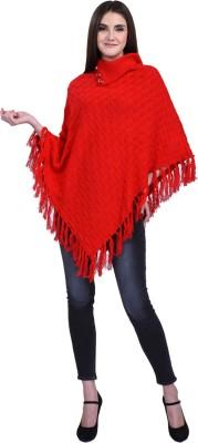 eCools Women Ladies Girls Winter wear Woolen Poncho