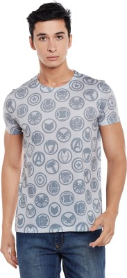 Marvel Avengers Printed Men Round Neck Grey T-Shirt Flipkart