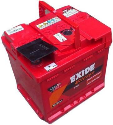 EXIDE MRED55 54 Ah Battery for Car