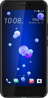 HTC U11 (Brilliant Black, 128 GB)(6 GB RAM)