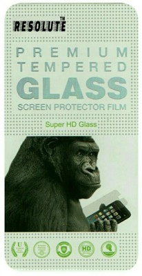RESOLUTE Tempered Glass Guard for MICROMAX BOLT SUPREME Q300(Pack of 1)