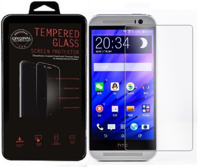 MudShi Tempered Glass Guard for HTC Desire M9Plus(Pack of 1)