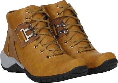 Buy Kraasa The Rock Men's Boots Online at Best Price in India