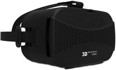 Shrih VR Virtual Reality 3D Headset Glasses(Smart Glasses, Black)