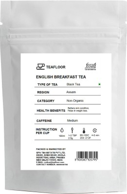 Tea Floor English Breakfast Mixed Fruit Black Tea(100 g, Vacuum Pack)
