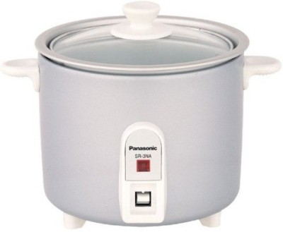 Panasonic Panasonic SR-3NA (Silver) Electric Rice Cooker(0.5 L, Silver)  available at flipkart for Rs.2395