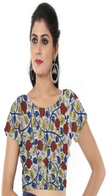 Chatri Fashions Cotton Printed Blouse Material(Un-stitched)