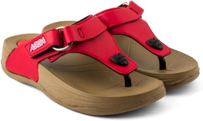 ADDA Women BEIGE-RED Sandals  available at flipkart for Rs.475