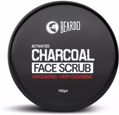 Beardo Activated Charcoal Deep Cleansing Face Scrub(100 g)