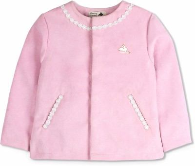 Cherry Crumble California Polycotton Solid Coat at flipkart