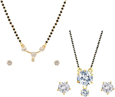 Aabhu Alloy Jewel Set(Multicolor)
