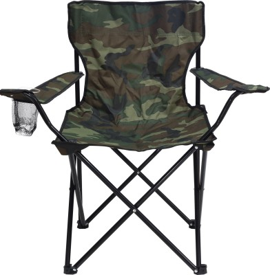 Story@Home Metal Outdoor Chair(Finish Color - Camouflage Green)