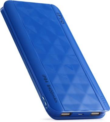 Ipro 8400 mAh Power Bank (IP84, Lithium-Polymer)(Blue, Lithium Polymer) at flipkart