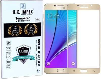 H.K.Impex Tempered Glass Guard for SAMSUNG Galaxy A5(Pack of 1)