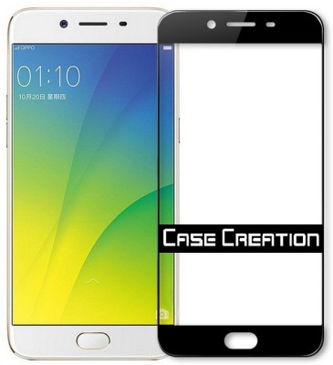 Case Creation Tempered Glass Guard for Oppo F3(Pack of 2)