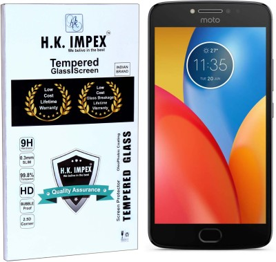 H.K.Impex Tempered Glass Guard for Motorola Moto E4 Plus(Pack of 1)
