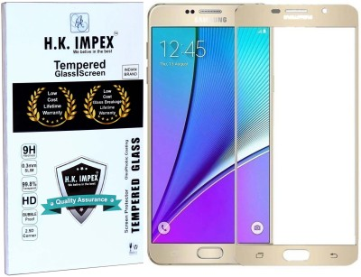 H.K.Impex Tempered Glass Guard for SAMSUNG Galaxy A7, SAMSUNG Galaxy A7(Pack of 1)