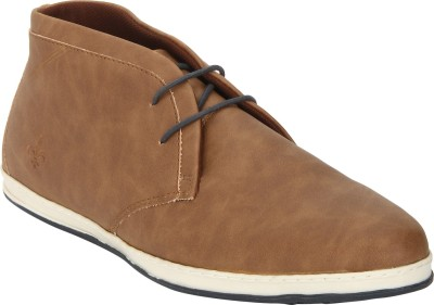 Bond Street By Red Tape Men Casual Chukka Boots For Men(Tan)