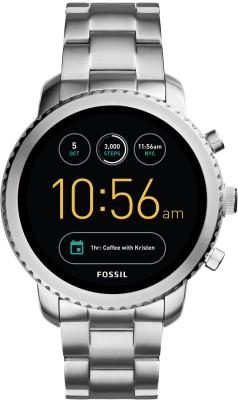 Fossil Gen 3 Q Explorist Silver Smartwatch(Silver Strap Regular)
