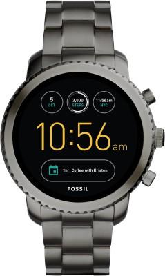 Fossil Gen 3 Q Explorist Grey Smartwatch(Grey Strap Regular) at flipkart