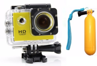 View Flipfit ULTRASHOTx Waterproof Digital 89 YELLOW Sports and Action Camera(Yellow 10.4 MP) Price Online(Flipfit)
