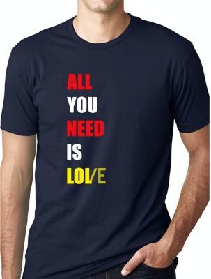 Grafytees Printed Men & Women Round Neck Multicolor T-Shirt
