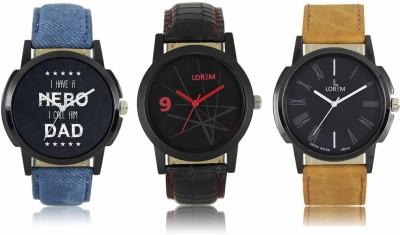 LOREM LR07 08 19 Analog Watch   For Men LOREM Wrist Watches