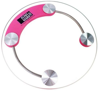 Weightrolux body weight machine Weighing Scale(Pink)  available at flipkart for Rs.999