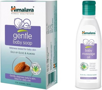 Himalaya gentle baby soap, baby oil White