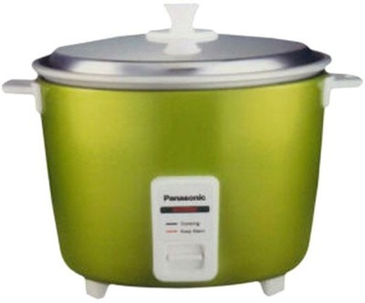 Panasonic SR-3NA (Apple Green) Electric Rice Cooker(0.5 L, Apple Green)  available at flipkart for Rs.2495