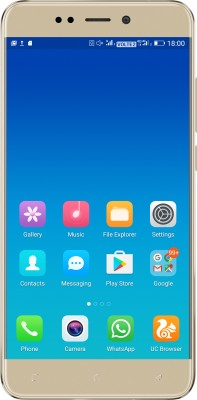 Gionee X1s (Gold, 16 GB)(3 GB RAM) at flipkart