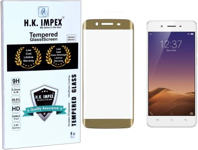 H.K.Impex Tempered Glass Guard for VIVO Y55S, Y55L, vivo y53(Pack of 1)