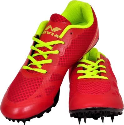 nivia running spikes