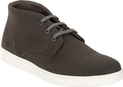 Bond Street By Red Tape Men Casual Chukka Boots For Men(Grey)