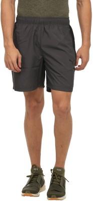 Puma Solid Men Grey Sports Shorts