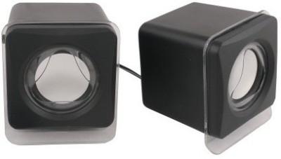 Outre E018/E028 Wired Multimedia USB 2.0 Mini 10 W Portable Laptop/Desktop Speaker(Black, 2.0 Channel)  available at flipkart for Rs.330