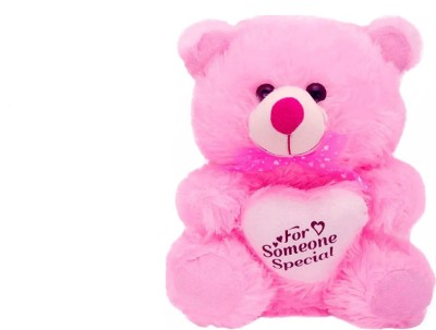 Kashish Trading Company Cute Pink For Someone Special Teddy Bear (45 Cm )  - 18 inch(Pink)  available at flipkart for Rs.499