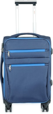 Tamo Nomad Check in Luggage Blue Color 24 Inch Expandable Check in Luggage   24 inch Tamo Suitcases