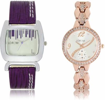 LOREM LR207 215 Analog Watch   For Women LOREM Wrist Watches