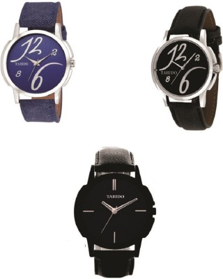 TARIDO Combo2 new generation multicolor dial multicolor leather strap analog wrist watch Analog Watch   For Men TARIDO Wrist Watches