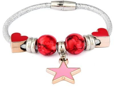 PRITA Alloy Cubic Zirconia Gold-plated Bracelet at flipkart