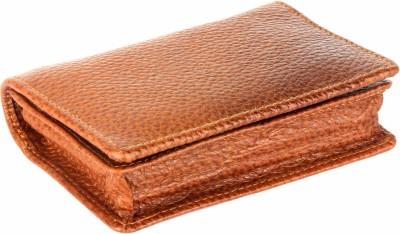 umda Genuine Leather 24 Card Holder(Set of 1, Tan)