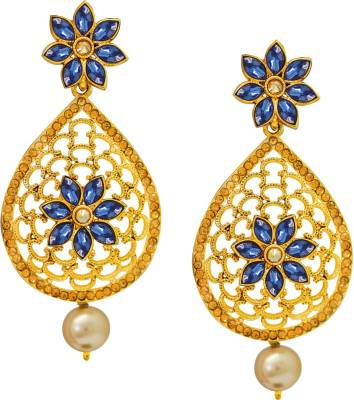 Divastri Fashion Crystal Alloy Chandelier Earring