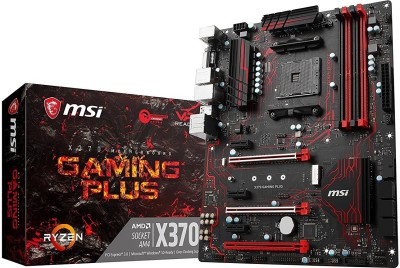 MSI actual X 370 GAMING PLUS Motherboard
