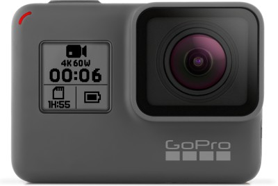 GoPro Go Pro Hero 6 Sports and Action Camera (Black 12 MP) Sports and Action Camera(Black 12 MP)