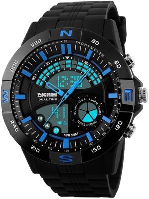Skmei 1110-BLUE  Analog-Digital Watch For Boys