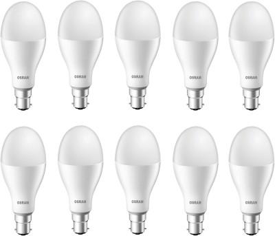 Osram 18 W Round B22 LED Bulb(White, Pack of 10) at flipkart