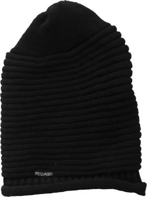 Pegaso Striped Beanie Cap