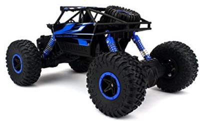 Dhawani fastdeal ROCK CRAWLER 1:18 Scale 4WD RALLY CAR - The Mean Machine (Blue)(Multicolor) at flipkart